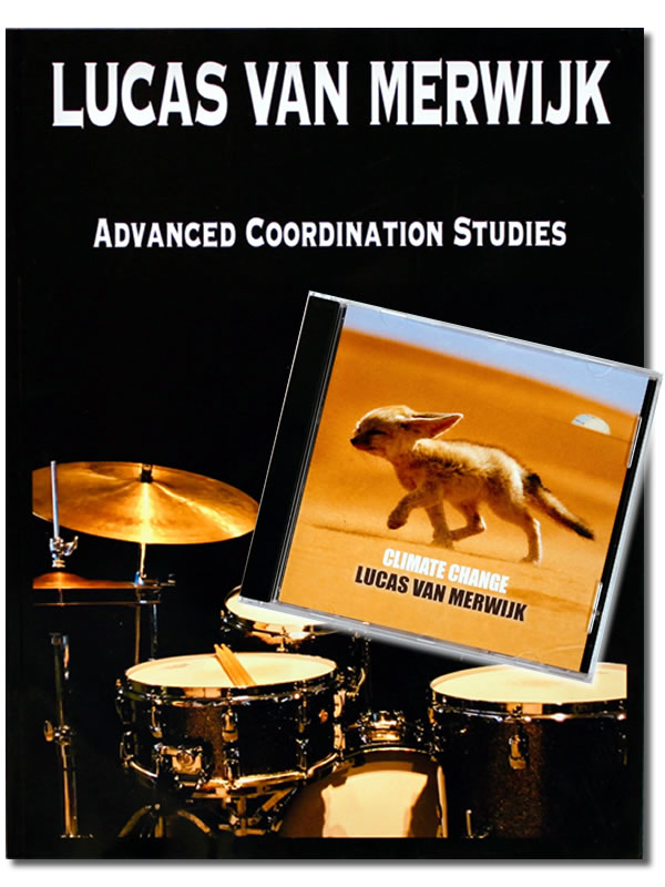 Lucas Van Merwijk Advanced Coordination Studies Book + Climate Change CD